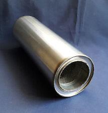 """89 mm alésage (3 1/2 """") 5"""" Rond x 16 """"de long universel acier inoxydable d'échappement silencieux"""