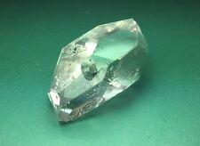 A Grade Herkimer Diamond Water Clear DT Quartz Pendant Crystal W Baby New York