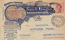 5701) RHO (MILANO), BUSTE E SACCHETTI DI CARTA FRATELLI GOGLIO. VG IL 12/5/1919.