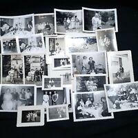 Vintage Photo Lot 23 family parents children photographs 1950s 1960s rural life