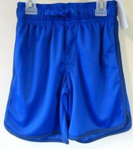 NWT OshKosh Blue Athletic Shorts Boy's Size 4