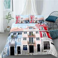 Great New York Street Signs 3D Quilt Duvet Doona Cover Set Pillow case Print