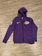 NEW NIKE LOS ANGELES LAKERS Therma Flex Showtime Hoodie NBA On-Court Mens Small
