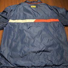 Vintage Tommy Hilfiger Athletics Coach's Jacket Lotus Flag USA XL Vtg Golf Snow