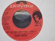 45M  JAMES BROWN GET ON THE GOOD FOOT PT.1 &2 ON POLYDOR RECORDS