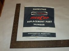Vintage Mercury shim washers - 20272 - 5 pieces