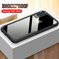Luxury Shockproof Phone Case For iPhone 6S 8 Plus Rugged Clear Hard Cover XS Max
