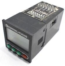 Pepperl +Fuchs KCN1-6WR-V Counter/Timer/Tachometer textheader