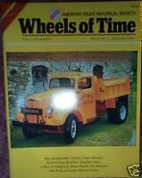 Hug Roadbuilder Trucks, Dump body history, Mack A-20, Syracuse NY Truck Photos