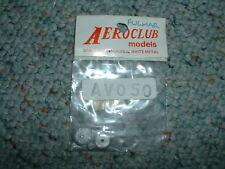 Aeroclub 1/72 AVO 50 Wheels   White Metal Acc Set