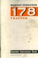 Tracteur MASSEY FERGUSON 178 opérateurs manuel-MF178