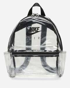 Nike JUST DO IT CLEARLY CUTE Mini Backpack Women Ladies Boys Girls School PE Bag