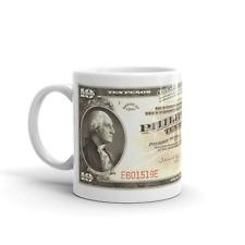 Cool Coffee Mug Vintage Gift 11oz - Filipino Series of 1941 - 10 Pesos