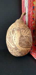 Old Australian Aboriginal Kimberley Carved Boab Nut …beautiful Australian...