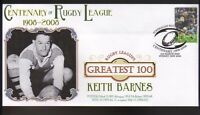 KEITH BARNES BALMAIN RUGBYs GREATEST 100 COVER