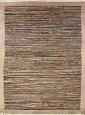 Rugstc 6x9 Senneh Gabbeh Multicolor Área de Alfombra, Vegetal Tinte