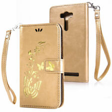 For Sony CG 3 Pattern Rubber Card Pouch Wallet Leather Flip Stand Case Cover