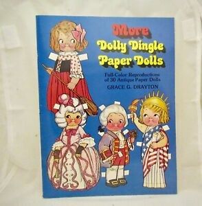 Adventures of Dolly Dingle Paper Dolls, new, uncut
