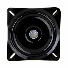 6 inch A3 Steel Plate Black Ball Bearing Square Swivel Turntable Chair Swivel