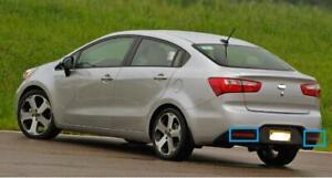 2PC Rear bumper Left and Right side Reflectors Light for KIA RIO 2012-2014 sedan