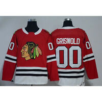 Men Clark Griswold #00 X-Mas Christmas Vacation Movie Hockey Jersey Stitched Red