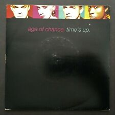 """Age Of Chance: Time's Up - 1989 Virgin Records 7"""" Vinyl Single"""