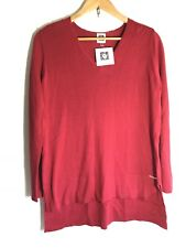 Women's sweater ANNE KLEIN $79 V Neck Long Sleeve Casual New With Tags