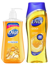 (2 Pack) Dial Complete AntiBac Liquid Hand Soap 11oz  Plus 16oz-21oz Body Wash