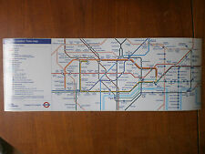 London Transport Underground Central Area Route Map 2012