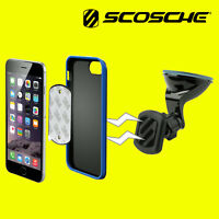 Scosche Magic Mount Magnetic In Car Window Mount Holder Stand For Mobile Phones