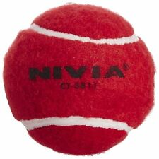Nivia Red Heavy Cricket Hard Tennis Balls (Pack of 2 )