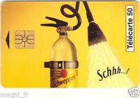 Télécarte - SCHWEPPES boisson  (A3242)