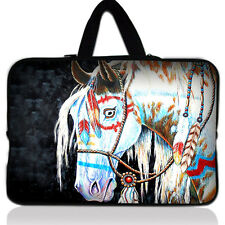 """Horse 16"""" 17"""" 17.3"""" inch Laptop Bag Case Pouch + Handle Notebook Cover Sleeve"""