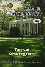 Royal Seeds Semi prato per terreni ombreggiati Royal Beauty Tappeto Erboso