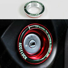 Alloy Ignition Key Ring Protector Switch trim Cover Case For Ford Escape Focus