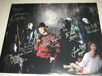 7 HORROR ICONS Signed 16x20 Photo Robert Englund Kane Hodder ++ BECKETT BAS COA