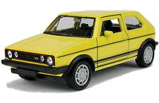 VW Golf I GTI Modellauto 1:33 11cm Welly Auto Modell Einser Golf Volkswagen 1er