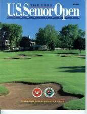 Golf Program 1991 U.S. Senior Open Arnold Palmer