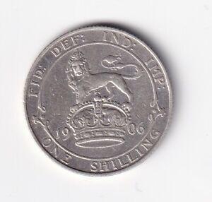 Großbritannien Shilling 1906 gutes sehr schön nsw-leipzig