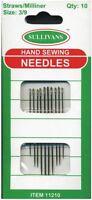 Straws/Milliner Needles Size 3 to 9