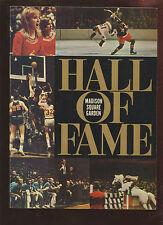 1967 Madison Square Garden Hall of Fame Magazine EXMT
