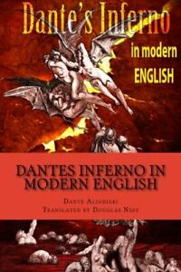 Dantes Inferno in Modern English by Neff, Douglas Book The Fast Free Shipping