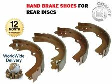 FOR SUBARU FORESTER 2.0 GLS X 1997-2008 NEW HAND BRAKE SHOE SET