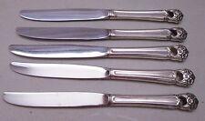ETERNALLY YOURS International Silver Silverware Lot of 5 Dinner Knives Knife