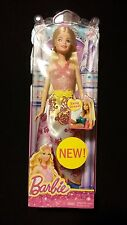 Barbie Fairytale Doll Easy Dress Pink Glitter Top MATTEL