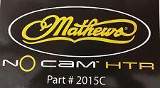 """Mathews new Htr decal no solocam 2015C 10"""" x 5"""""""