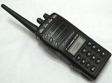Motorola GP68 UHF 430-470MHz 4W 20 Channel 2-Way Radio + Accessories