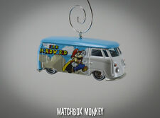 Super Mario World Volkswagen T1 Panel Van Custom Christmas Ornament VW Yoshi