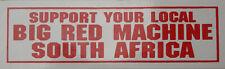 002 HELLS ANGELS Support 81 Big Red Machine Sticker Aufkleber aus Süd Afrika