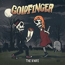 GOLDFINGER THE KNIFE CD ALBUM (Released July 21st 2017)